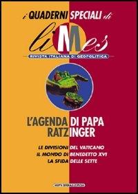 L' agenda di papa Ratzinger