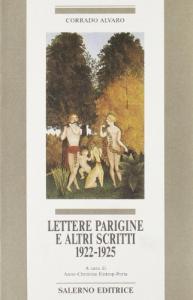 Lettere parigine e altri scritti, 1922-1925