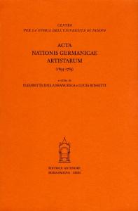 Acta nationis Germanicae artistarum