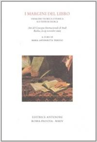 I margini del libro: indagine teorica e storica sui testi di dedica