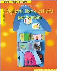 Biglietti, libri e attivita' per bambini