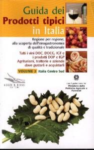 Guida dei prodotti tipici in Italia.