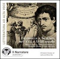 Filosofia e scienza nel 17. e 18. secolo [audioregistrazione]