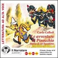 Le avventure di Pinocchio [audioregistrazione]
