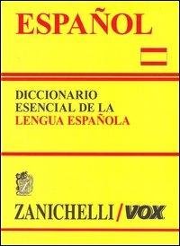Español : diccionario esencial de la lengua española