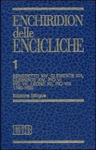 1: Benedetto XIV, Clemente XIII, Clemente XIV, Pio VI, Pio VII, Leone XII, Pio VIII