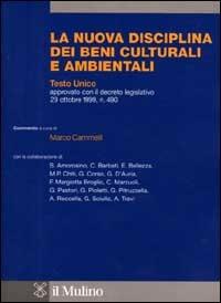 La nuova disciplina dei beni culturali e ambientali