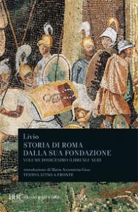 Vol. 12: Libri XLI-XLIII