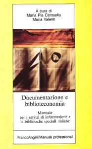 Documentazione e biblioteconomia