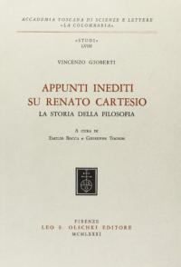 Appunti inediti su Renato Cartesio