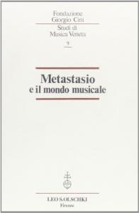 Metastasio e il mondo musicale