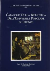 Catalogo della Biblioteca dell'Università popolare di Firenze