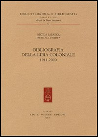 Bibliografia della Libia coloniale
