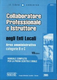 Collaboratore professionale e istruttore negli enti locali