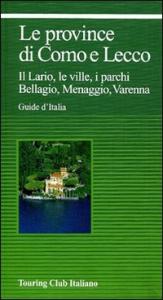 Le province di Como e Lecco