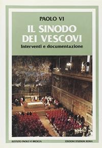 Il sinodo dei vescovi
