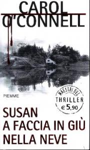 Susan a faccia in giù nella neve