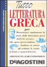 Tutto letteratura greca