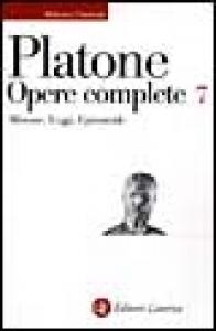Opere complete : volume settimo : Minosse, Leggi, Epinomide / Platone