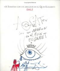A Sabater con un abrazon en el Quin Elisabet, Dalí