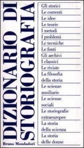 Dizionario di storiografia