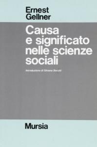 Causa e significato nelle scienze sociali