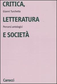 Critica, letteratura e società