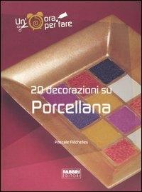 20 decorazioni su porcellana