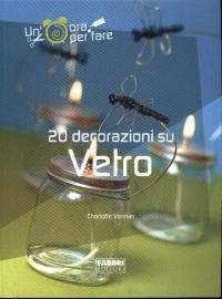 20 decorazioni su vetro