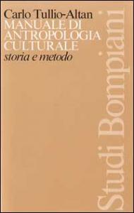 Manuale di antropologia culturale