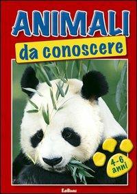 Animali da conoscere