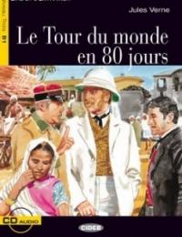Le tour du monde en 80 jours / Jules Verne ; adaptation de Sarah Guilmault