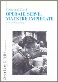 Operaie, serve, maestre, impiegate