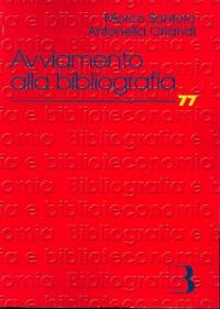 Avviamento alla bibliografia