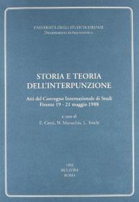 Storia e teoria dell'interpunzione