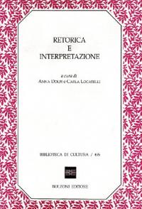 Retorica e interpretazione
