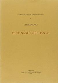 Otto saggi per Dante