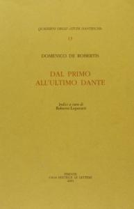 Dal primo all'ultimo Dante