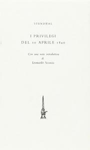 I privilegi del 10 aprile 1840