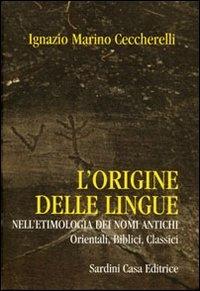 L'origine delle lingue