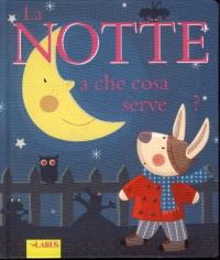 La notte a che serve? / testo: Sophie Bellier ; traduzione: Colomba Scotti ; illustrazioni: Sophie Ledesma