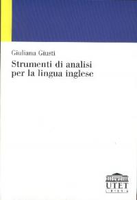 Strumenti di analisi per la lingua inglese