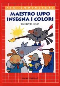 Maestro lupo insegna i colori