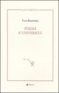 Poesia e università