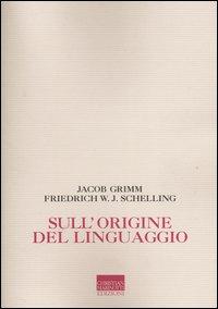 Sull'origine del linguaggio
