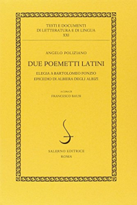 Due poemetti latini