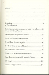 Las Mas Digna : l'Inter, il subcomandante Marcos e i misteri del 5 maggio / Bruno Bartolozzi