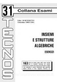 Insiemi e strutture algebriche
