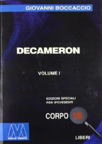 Decameron / Giovanni Boccaccio. Vol. 1