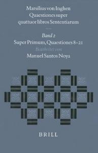 2: Super primum, Quaestiones 8-21